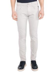 Pánske  Anbass Jeans Replay -  biela