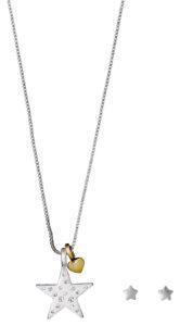 Dámske  Valentine Sada šperkov Pilgrim -  strieborná