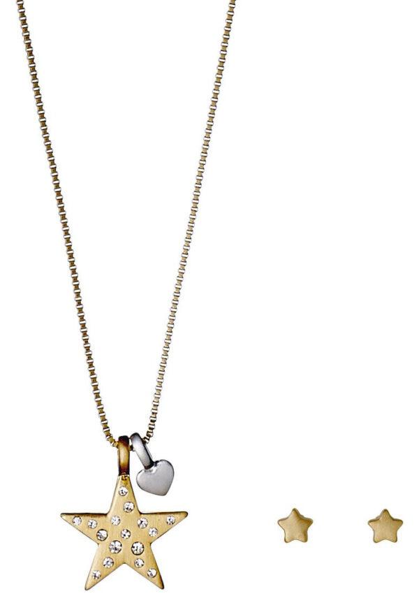 Dámske  Valentine Sada šperkov Pilgrim -  zlatá