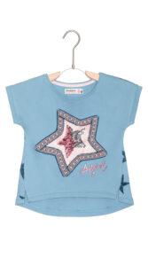 Dievčenské  Nuevomexic Tričko detské Desigual -  modrá