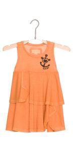 Dievčenské  Šaty detské Diesel -  oranžová