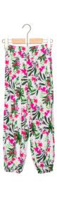 Dievčenské  Nohavice detské Guess -  ružová viacfarebná