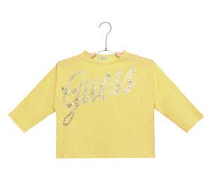 Dievčenské  Tričko detské Guess -  žltá