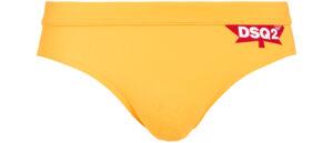 Pánske  Plavky DSQUARED2 -  žltá