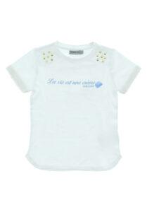 Dievčenské  Tričko detské Geox -  biela