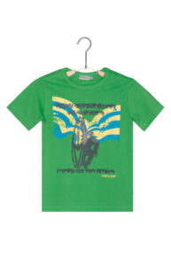 Chlapčenské  Tričko detské Geox -  zelená