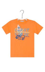 Chlapčenské  Tričko detské Geox -  oranžová