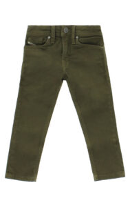 Chlapčenské  Jeans detské Diesel -  zelená