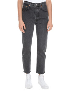 Dámske  501® Jeans Levi's -  šedá