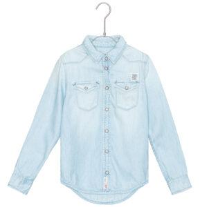 Chlapčenské  Košeľa  detská Pepe Jeans -  modrá