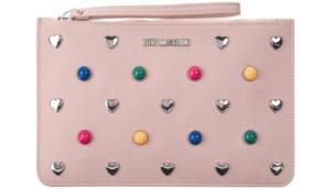 Dámske  Listová kabelka Love Moschino -  ružová