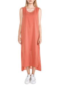 Dámske  Pontengi Šaty Silvian Heach -  červená oranžová