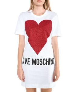 Dámske  Šaty Love Moschino -  biela