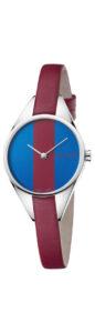 Dámske  Rebel Hodinky Calvin Klein -  modrá červená strieborná