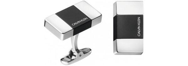 Pánske  Manžetové gombíky Calvin Klein -  strieborná