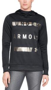 Dámske  Armour Fleece® Mikina Under Armour -  čierna