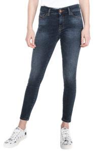 Dámske  Slandy Ankle Jeans Diesel -  modrá