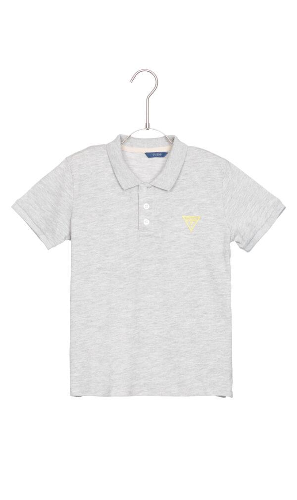 Chlapčenské  Polo tričko detské Guess -  šedá