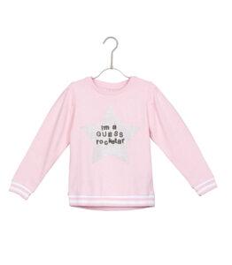 Dievčenské  Mikina detská Guess -  ružová