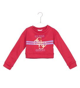 Dievčenské  Mikina detská Guess -  červená