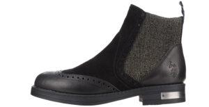 Dámske  Vaiana Členková obuv U.S. Polo Assn -  čierna