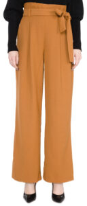 Dámske  Kim Kalhoty Vero Moda -  hnedá