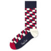 Pánske  Filled Optic Ponožky Happy Socks -  viacfarebná