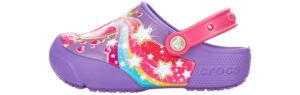 Dievčenské  MagicWand Lts Clog Crocs detské Crocs -  fialová
