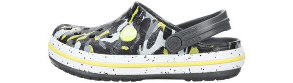 Chlapčenské  Crocband™ Clog Crocs detské Crocs -  čierna žltá viacfarebná