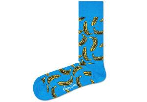 Pánske  Banana Ponožky Happy Socks -  modrá
