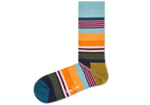 Pánske  Multi Stripe Ponožky Happy Socks -  viacfarebná