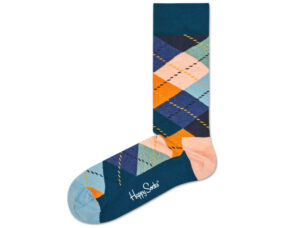 Pánske  Argyle Ponožky Happy Socks -  viacfarebná