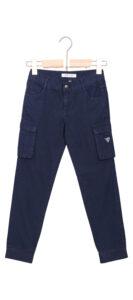 Chlapčenské  Nohavice detské Guess -  modrá