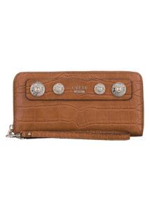 Dámske  Anne Marie Large Peňaženka Guess -  hnedá