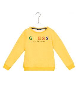 Dievčenské  Mikina detská Guess -  žltá