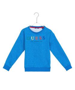Dievčenské  Mikina detská Guess -  modrá
