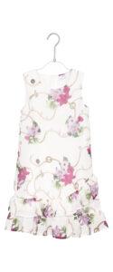 Dievčenské  Šaty detské Guess -  biela viacfarebná