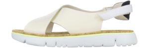 Dámske  Oruga Sandále Camper -  žltá biela