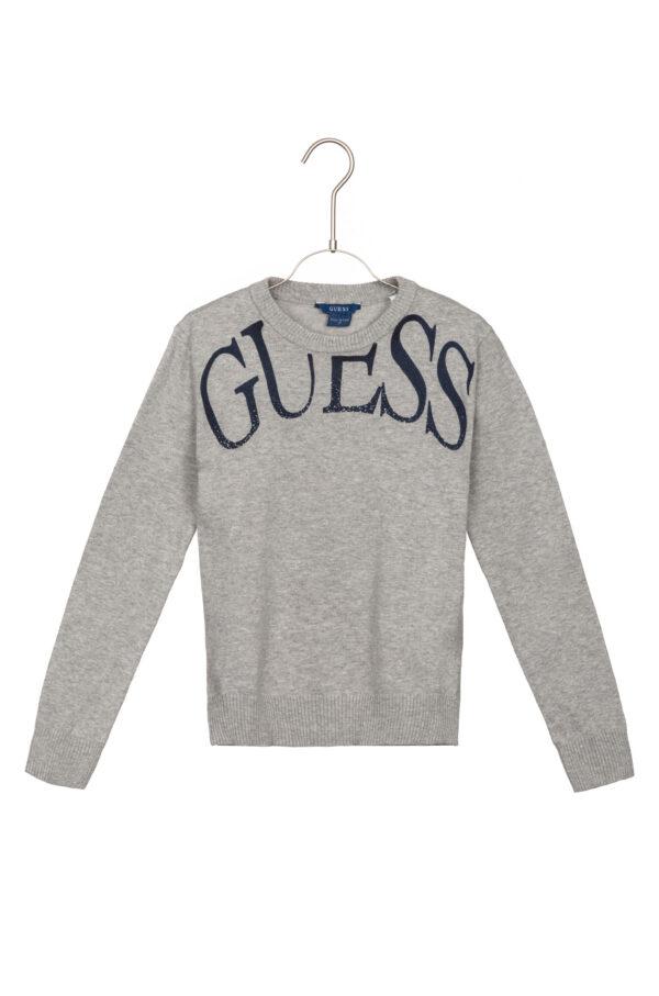 Chlapčenské  Sveter detský Guess -  šedá