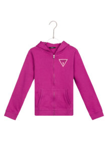 Dievčenské  Core Mikina detská Guess -  ružová fialová