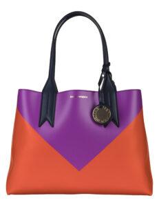 Dámske  Kabelka Emporio Armani -  ružová fialová oranžová