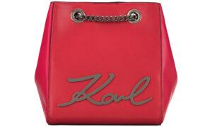 Dámske  Kabelka Karl Lagerfeld -  červená