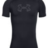 Chlapčenské  HeatGear® Tričko detské Under Armour -  čierna