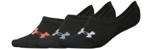 Dámske  Essential Ponožky 3 páry Under Armour -  čierna