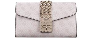 Dámske  Prisma Listová kabelka Guess -  béžová