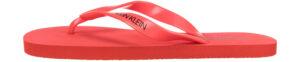 Pánske  Žabky Calvin Klein -  červená