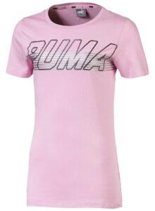 Dievčenské  Alpha Tričko detské Puma -  ružová