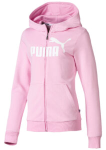 Dievčenské  Essentials Mikina destká Puma -  ružová
