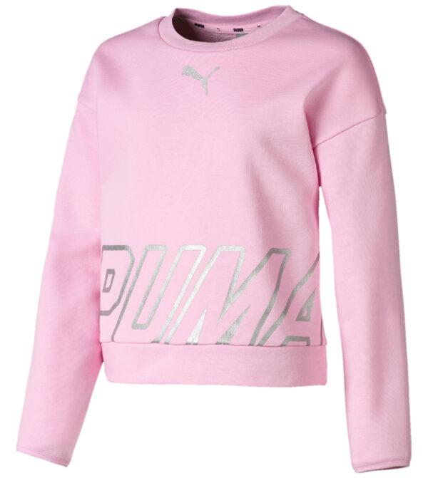 Dievčenské  Alpha Mikina detská Puma -  ružová