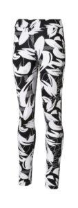 Dievčenské  Alpha Legíny detské Puma -  čierna biela
